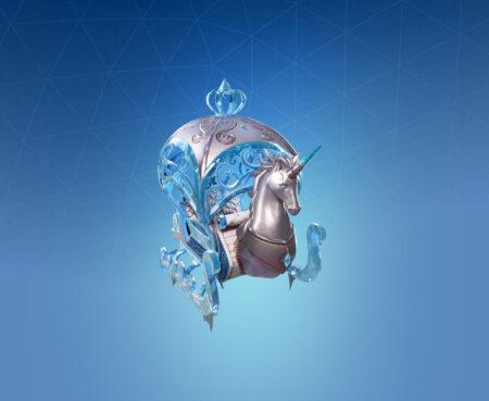 Fortnite Crystal Carriage Glider - Full list of cosmetics : Fortnite Winter Wonderland Set | Fortnite skins.