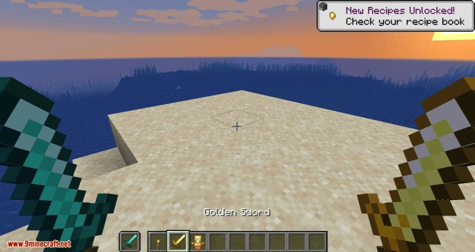 Hide Hands mod for minecraft 08