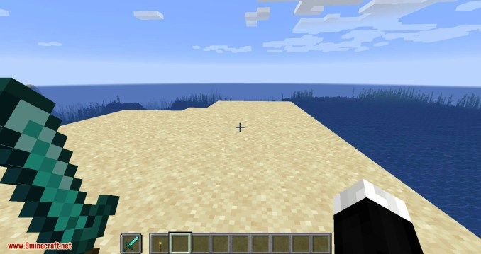 Hide Hands mod for minecraft 01