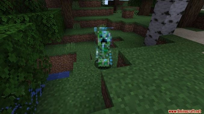 Naturally Charged Creepers Mod Screenshots 1