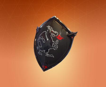 Fortnite Black Shield Back Bling