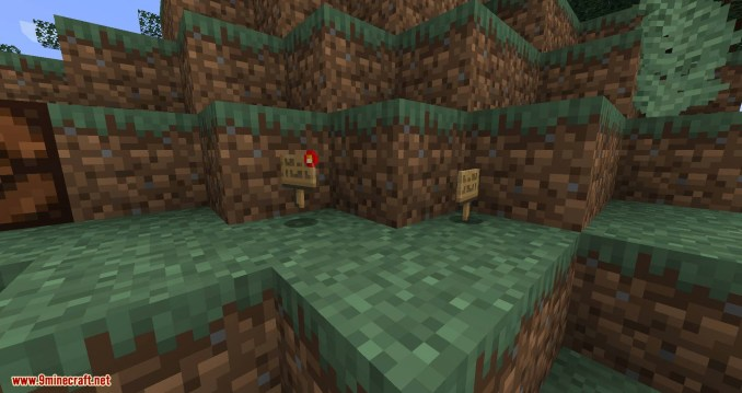 Sign Buttons mod for minecraft 07