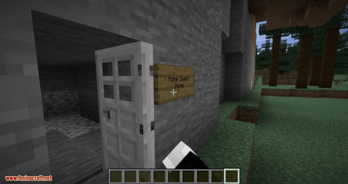 Sign Buttons mod for minecraft 09