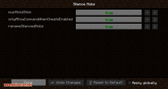 Silence Mobs mod for minecraft 02