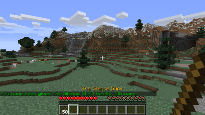 Silence Mobs mod for minecraft 09
