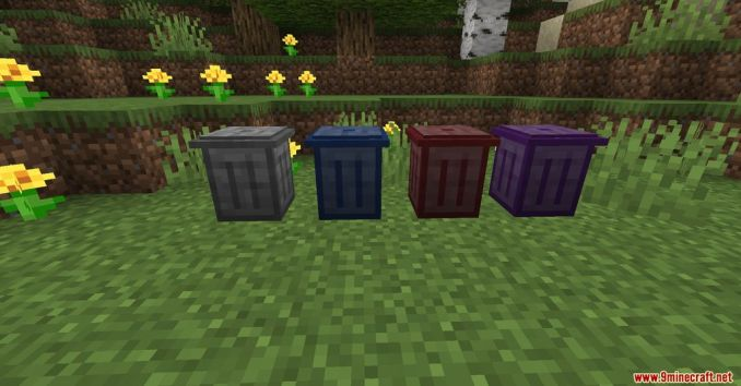 Trash Cans Mod Screenshots 1