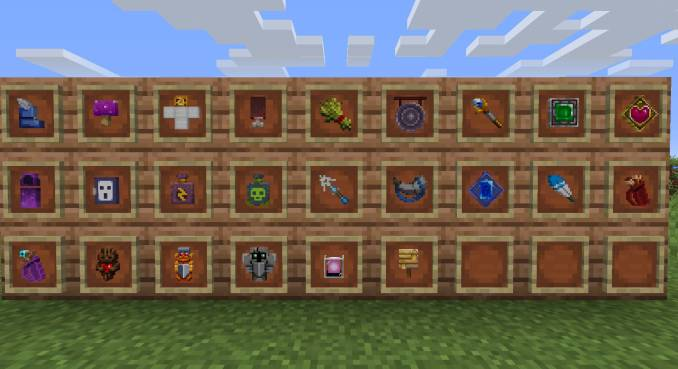 Dungeons Gear mod for minecraft 23