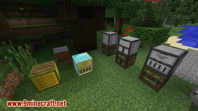 Framed Compacting Drawers mod for minecraft 12