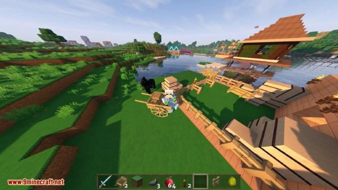 Horse Carts Mod Screenshots 11