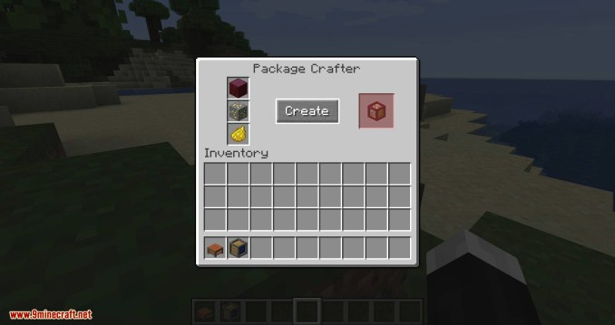 Packages mod for minecraft 09
