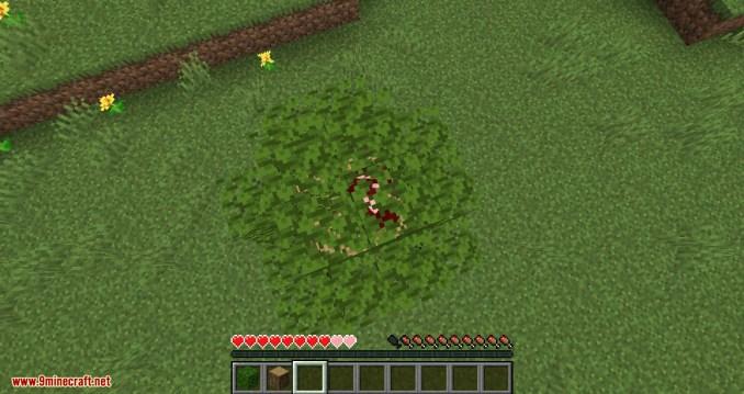 Passable Foliage mod for minecraft 11