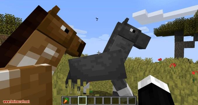 Stupid Horse Stand Still mod for minecraft 03
