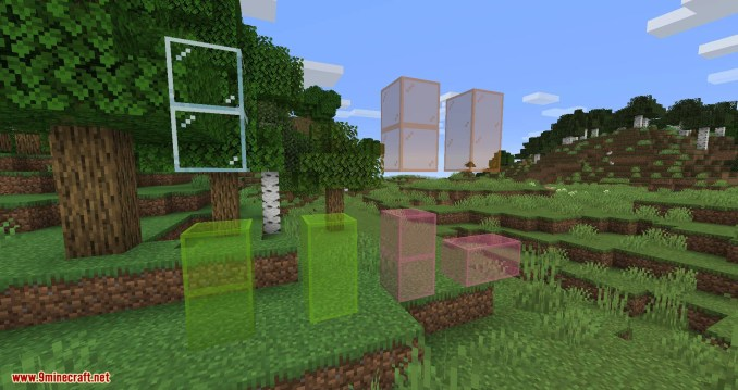 Connected Glass mod for minecraft 06