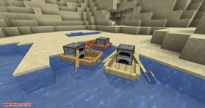 Extra Boats mod for minecraft 07