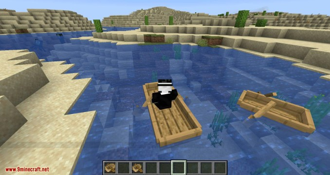 Extra Boats mod for minecraft 10