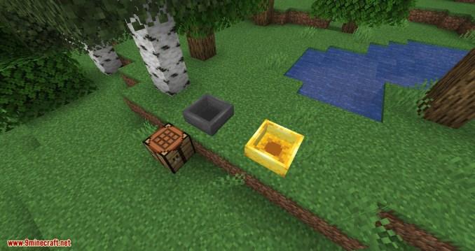 Golden Hopper mod for minecraft 04