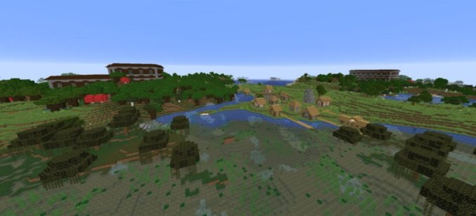 2 Woodland Mansions, Village, Witch Hut Seed