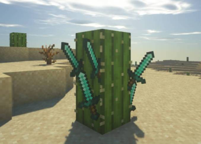 Weapon Throw mod for minecraft 21