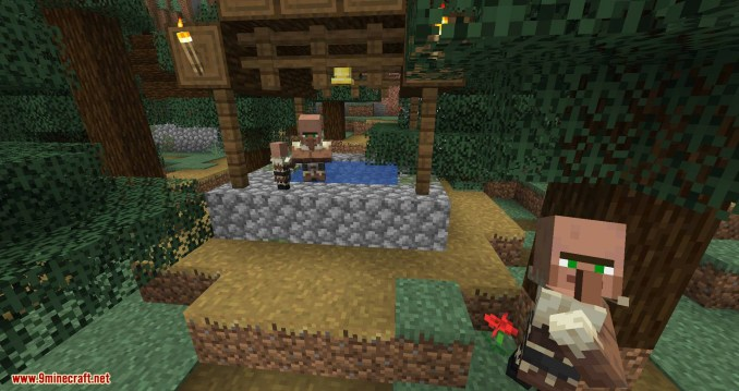Guard Villagers mod for minecraft 06