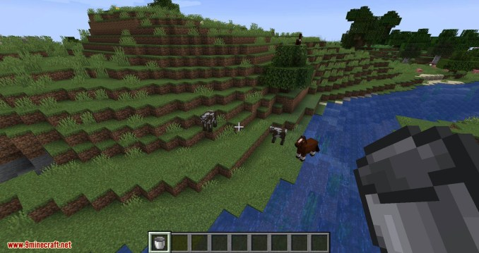 Milk All The Mobs mod for minecraft 01