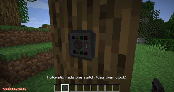 Redstone Gauges and Switches mod for minecraft 05
