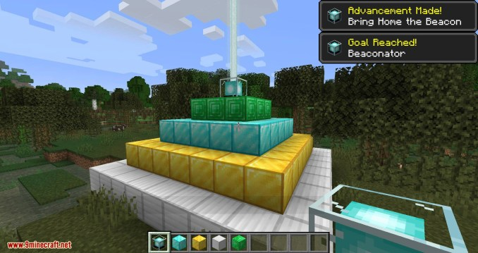 Just Enough Beacons mod for minecraft 03