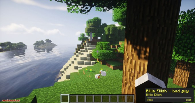 Music Player mod for minecraft 08