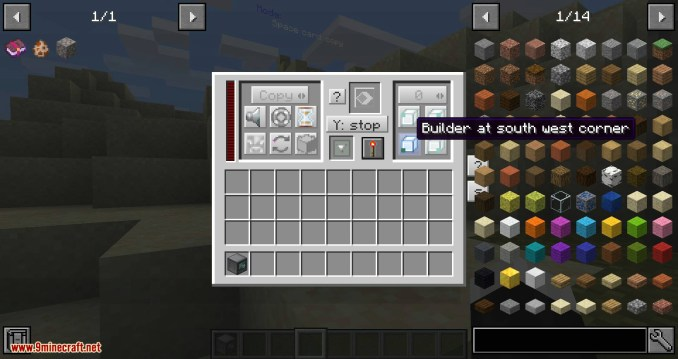 RFTools Builder mod for minecraft 03