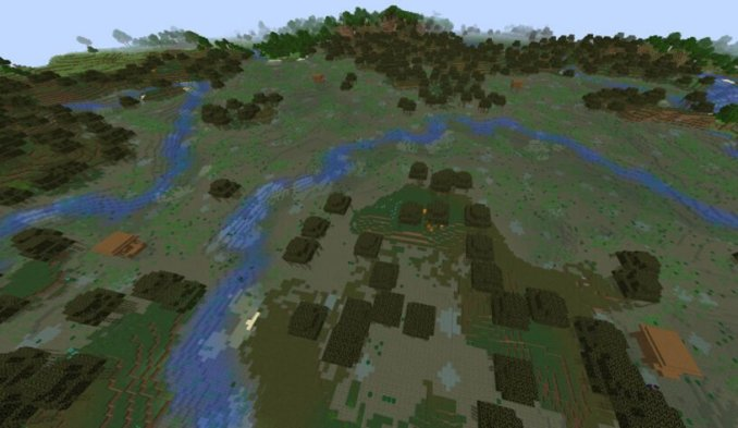 Four Witch Huts - Top 19 Best Minecraft Seeds 1.16.5 Java & Bedrock (April 2021)