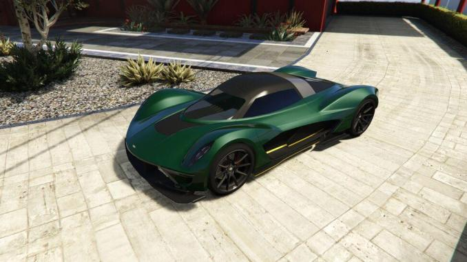 17. Dewbauchee Vagner - 20 Fastest Cars in GTA Online & Grand Theft Auto V ( 2021)