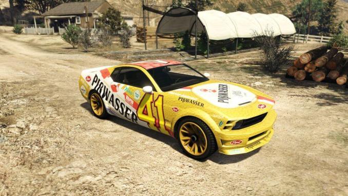 20. Vapid Pißwasser Dominator - 20 Fastest Cars in GTA Online & Grand Theft Auto V ( 2021)