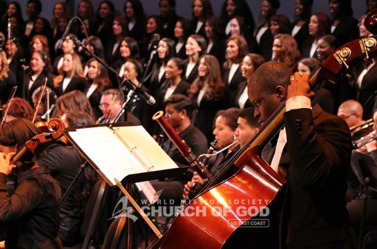 jubilee, 50th anniversary, World Mission Society Church of God, WMSCOG, Church of God, Mother's love, global harmony, key to harmony, orchestra, strings, amazing grace, dancing, NJPAC,The New Jerusalem Choir and Orchestra, Choir, orchestra, performing,