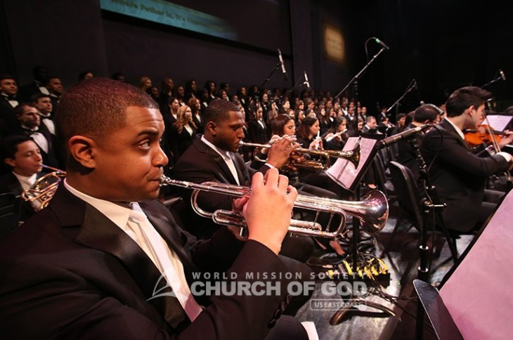 jubilee, 50th anniversary, World Mission Society Church of God, WMSCOG, Church of God, Mother's love, global harmony, key to harmony, orchestra, strings, amazing grace, dancing, NJPAC,The New Jerusalem Choir and Orchestra, Choir, orchestra, trumpets