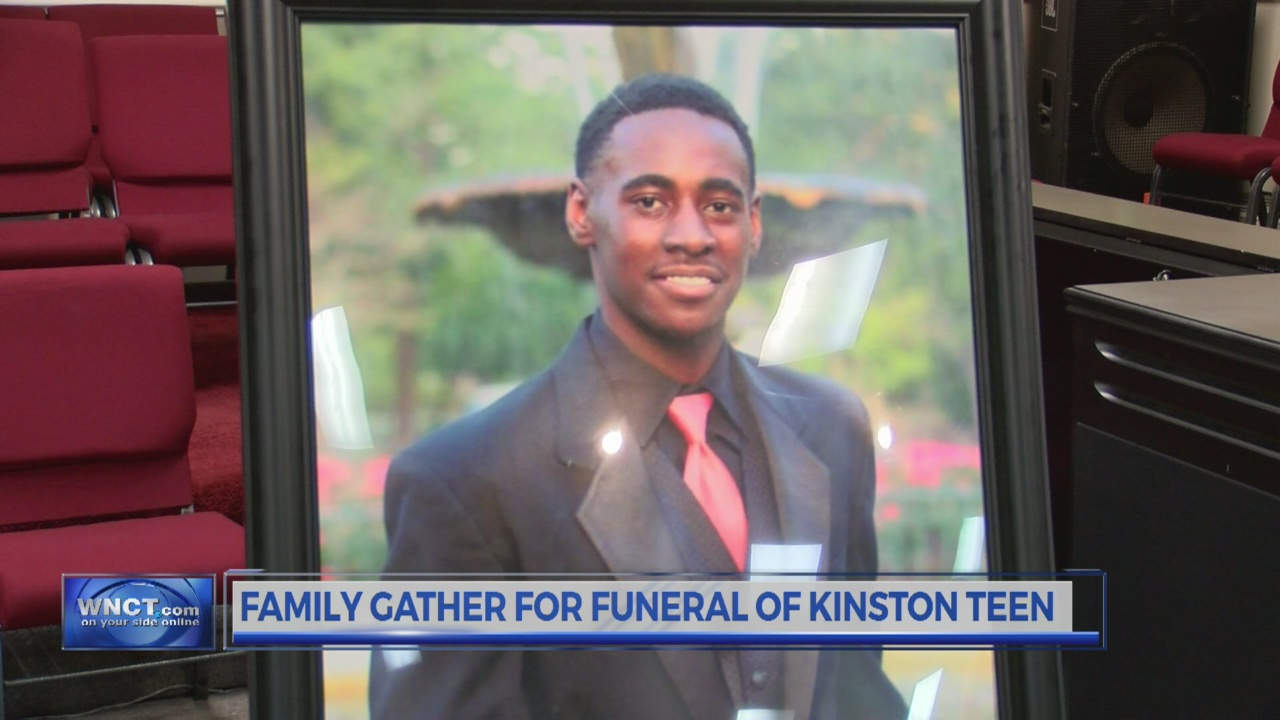 Family Gather For Funeral of Kinston Teen