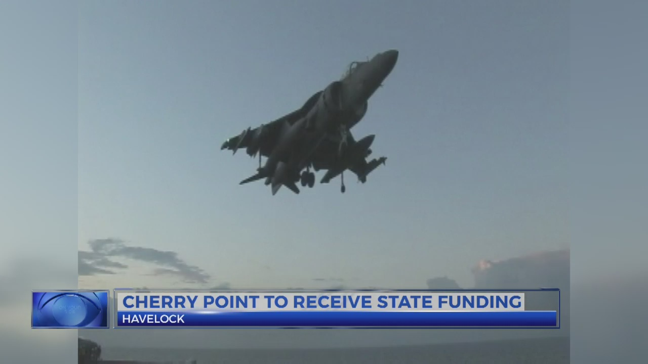 Cherry Point state funding