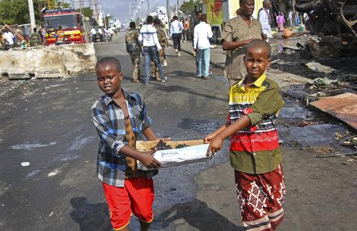 APTOPIX Somalia Explosion_490445