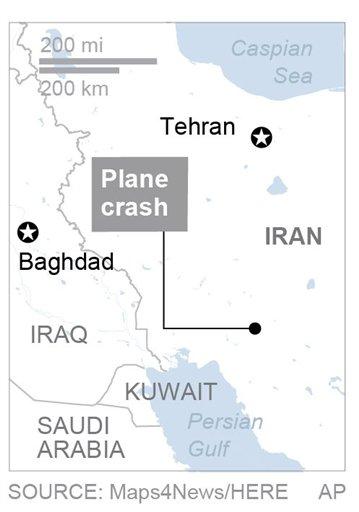 IRAN PLANE CRASH_567668