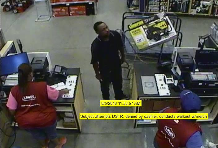 Police trying to ID 2 suspects wanted for stealing generator