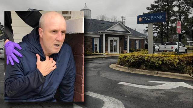 Benson NC Bank Robber