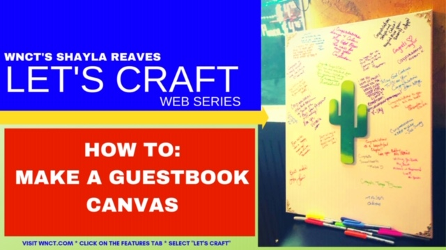 Lets Craft Guestbook Canvas