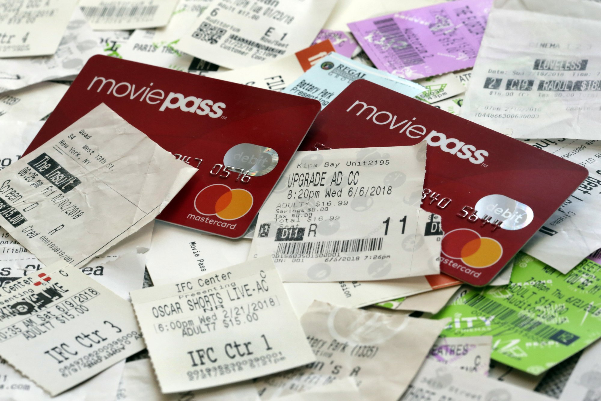 MoviePass Cards & Tickets