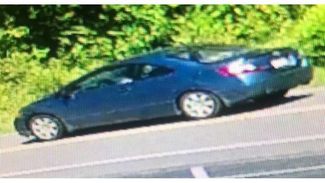NC Road Rage Suspect Vehicle