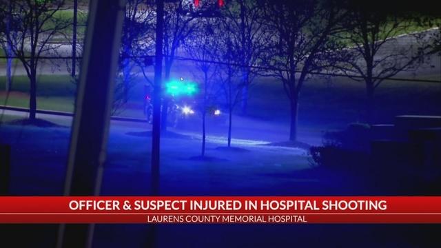 SC Hospital Shooting Scene