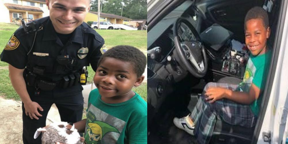 FL Officer Befriends Boy