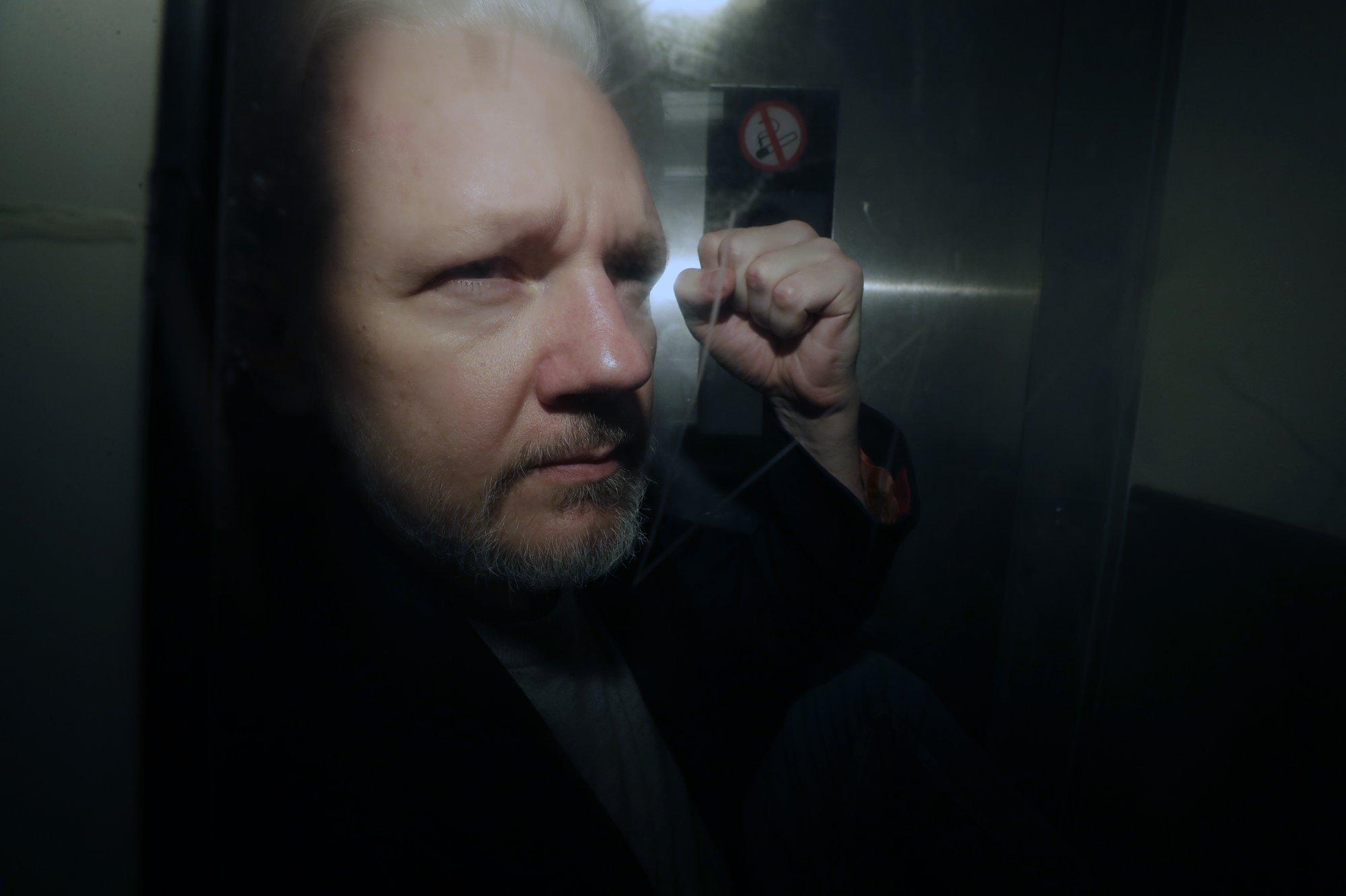Julian Assange - May 1, 2019