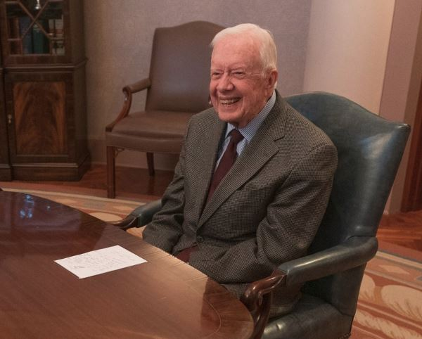 Jimmy Carter released from hospital after hip replacement