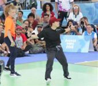 Break Dancing Competition