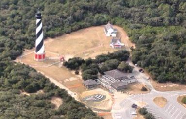 Cape Hatteras Lighthouse Current Location