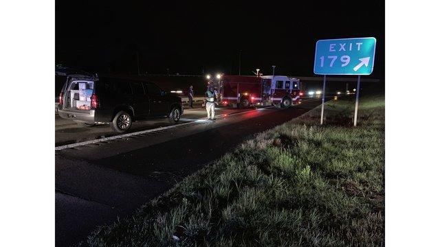 DWI Pedestrian Hit by Car I-85 Durham