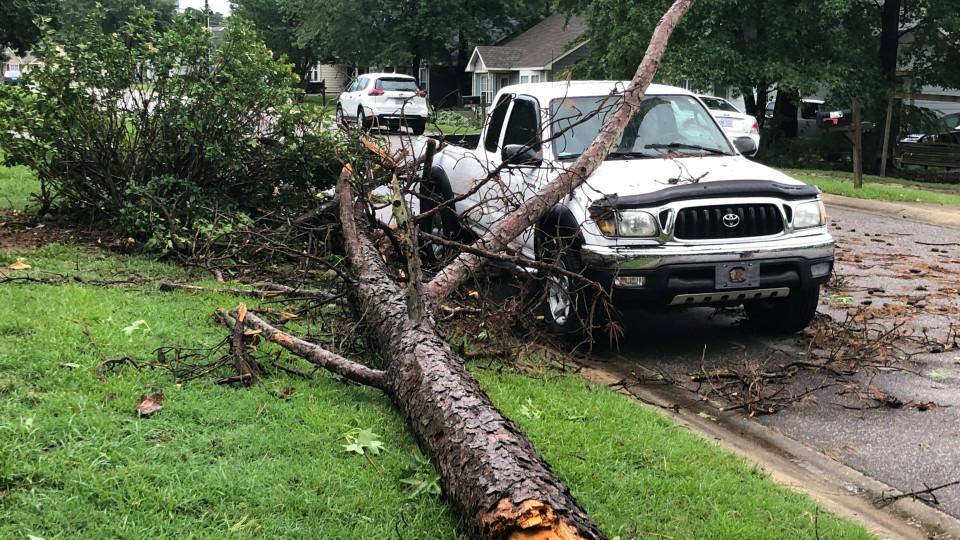 Nash County Storm Damage June 21, 2019